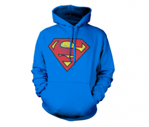 Bluza z kapturem Superman Washed Shield Dc Comics