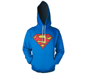 Bluza z kapturem Superman - logo