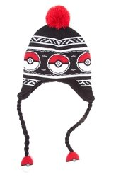 Czapka zimowa Pokemon - Pokeball Laplander