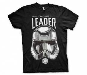 Koszulka męska Star Wars Episode VII T-shirt Captain Phasma Troop Leader