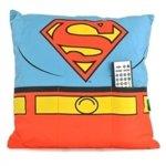 d5026a69f8cb Poduszka Superman z kieszeniami na piloty