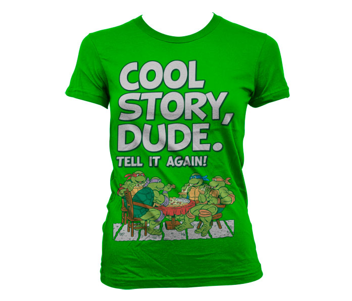 Koszulka męska Żółwie Ninja Turtles Cool Story Dude T Shirt