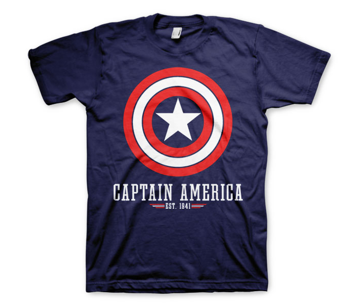 bluza kapitan ameryka męska marvel