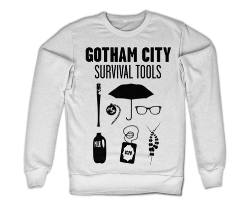 Bluza Gotham City - Survival Tools Dc Comics