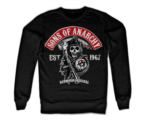 Bluza Sons Of Anarchy Redwood Original Red Patch