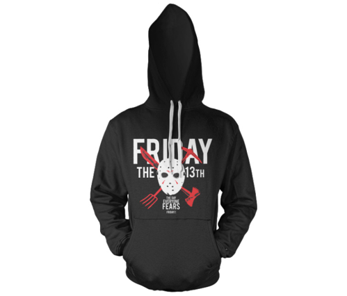 Bluza z kapturem Friday The 13th - The Day Everyone Fears