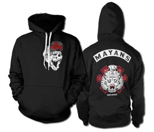 Bluza z kapturem Sons Of Anarchy Los Mayans