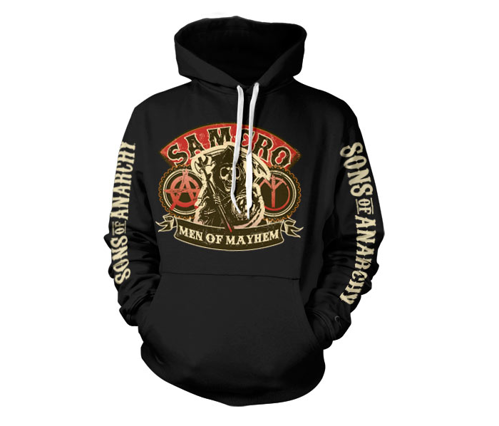 Bluza z kapturem Sons Of Anarchy SAMCRO - Men Of Mayhem