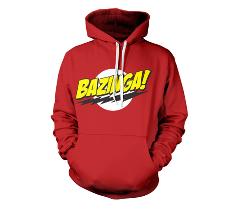Bluza z kapturem The Big Bang Theory Bazinga Super