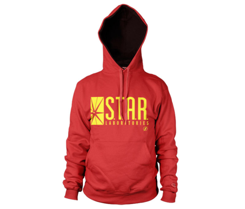 Bluza z kapturem The Flash - Star Laboratorier Dc Comics