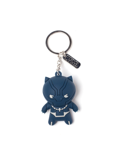 Brelok 3D gumowy Marvel - Black Panther