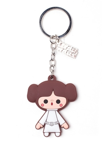 Brelok gumowy Star Wars - Princess Leah