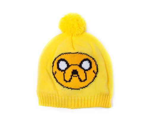 Czapka zimowa Adventure Time - Jake z pomponem