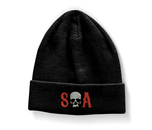 Czapka zimowa Sons Of Anarchy - S-O-A