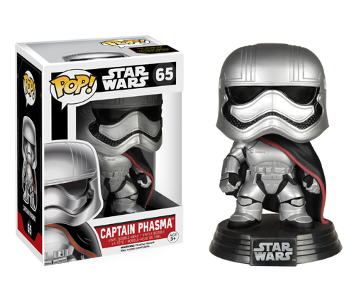 Figurka Funko POP! Bobble: Star Wars: E7 TFA: Captain Phasma