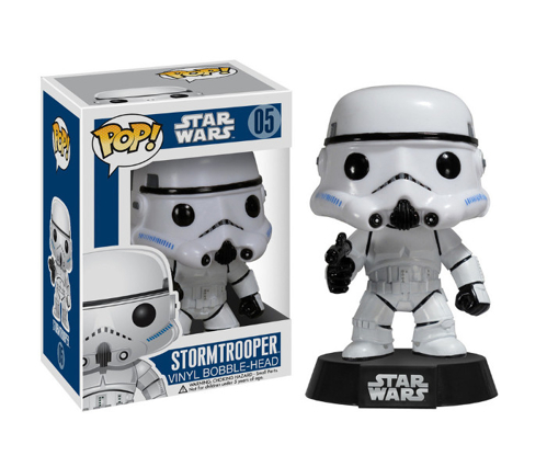 Figurka Funko POP! Bobble: Star Wars: Stormtrooper