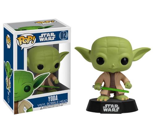 Figurka Funko POP! Bobble: Star Wars: Yoda