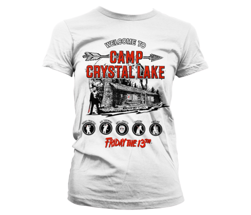 Koszulka damska Friday The 13th - bluzka Camp Crystal Lake