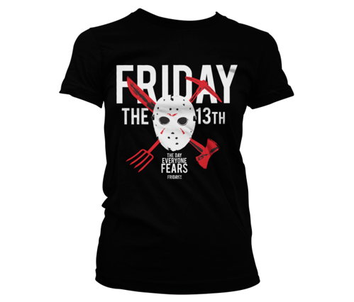 Koszulka damska Friday The 13th - bluzka The Day Everyone Fears