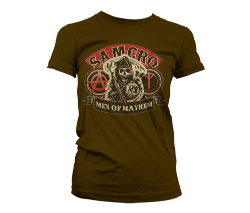 Koszulka damska Sons Of Anarchy - SAMCRO Men Of Mayhem