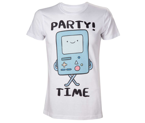 Koszulka męska Adventure Time T-shirt BMO Party Time