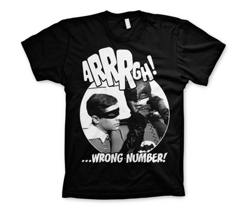 Koszulka męska Batman Arrrgh - Wrong Number t-shirt Dc Comics
