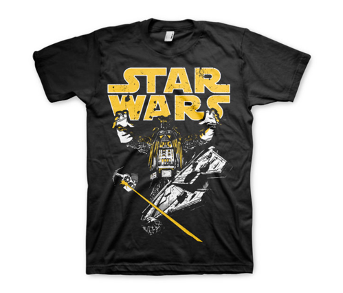 Koszulka męska Darth Vader Intimidation T-Shirt