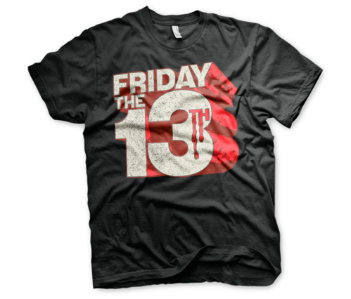 Koszulka męska Friday The 13th Block t-shirt Logo