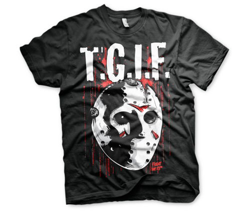 Koszulka męska Friday The 13th - T.G.I.F. t-shirt Jason