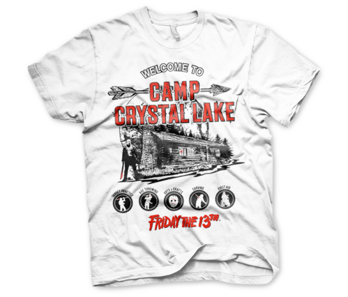 Koszulka męska Friday The 13th - t-shirt Camp Crystal Lake