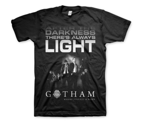 Koszulka męska Gotham City  After darkness t-shirt Dc Comics