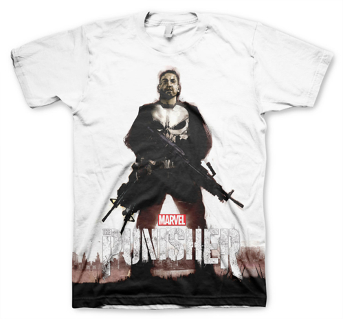 Koszulka męska Marvel - The Punisher - Allover