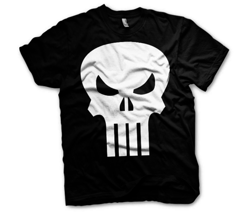 Koszulka męska Marvel - The Punisher Skull