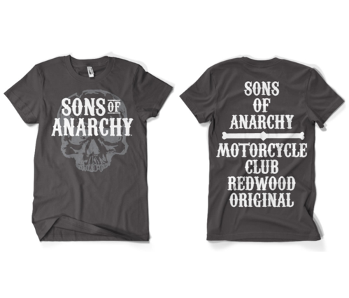 Koszulka męska Sons Of Anarchy Motorcycle Club T- Shirt
