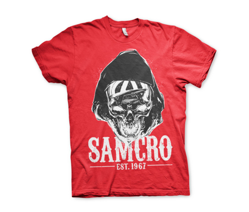 Koszulka męska Sons Of Anarchy SAMCRO Dark Reaper T-Shirt