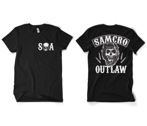 Koszulka męska Sons Of Anarchy Samcro Outlaw T-Shirt