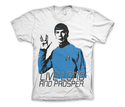 Koszulka męska Star Trek - Live Long And Prosper T-Shirt