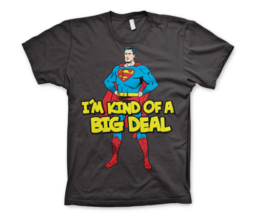 Koszulka męska Superman - I´m Kind Of A Big Deal T-Shirt Dc Comics