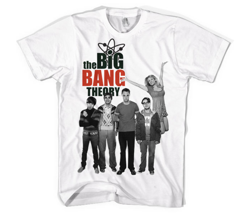 Koszulka męska The Big Bang Theory Cast T-Shirt