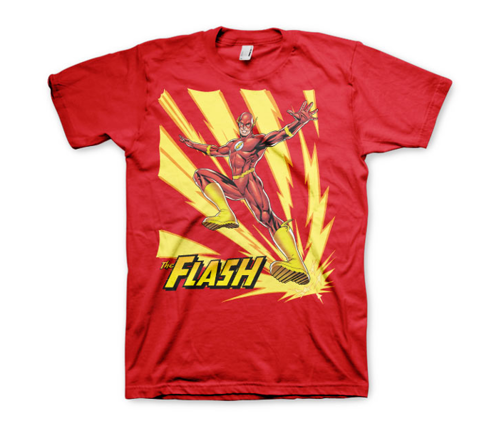Koszulka męska The Flash Jumping t-shirt DC Comics