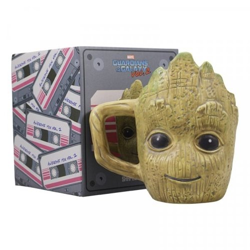 Kubek Mini 3D ceramiczny Marvel-Guardians of the Galaxy