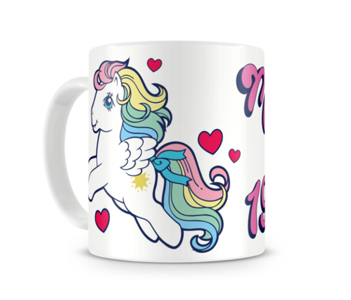 Kubek ceramiczny My Little Pony - Made in 1983
