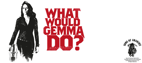 Kubek ceramiczny Sons of Anarchy - WHAT WOULD GEMMA DO?