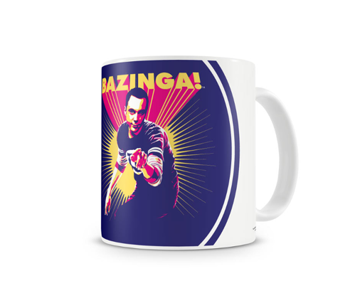 Kubek ceramiczny The Big Bang Theory - Sheldon Says BAZINGA!