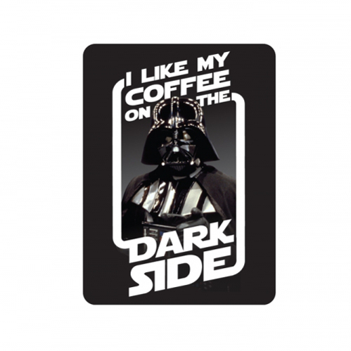 Magnes na lodówkę Star Wars Dark Side Coffee