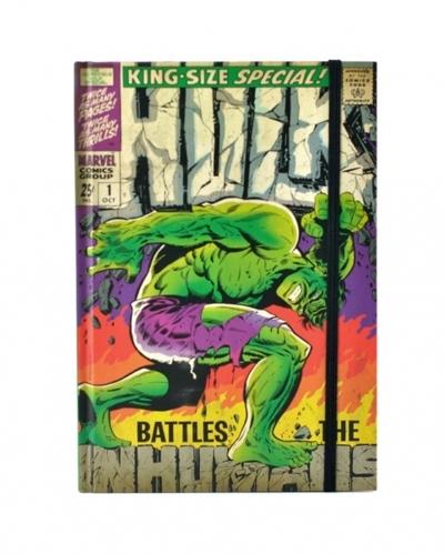 Notes A5 Marvel - Hulk