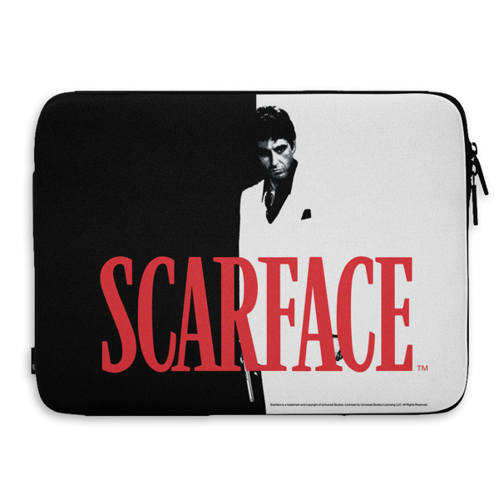 "Pokrowiec 15"" na laptop / macbook / ultrabook Scarface"