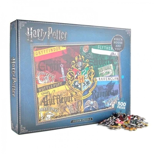 Puzzle 500-elementowe Harry Potter - Houses