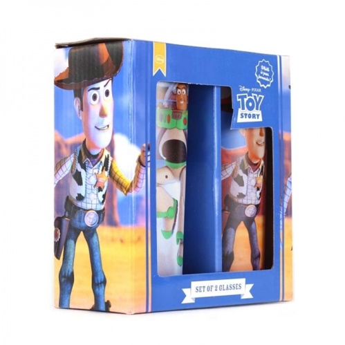Szklanki Disney - TOY STORY - WOODY & BUZZ  350ml