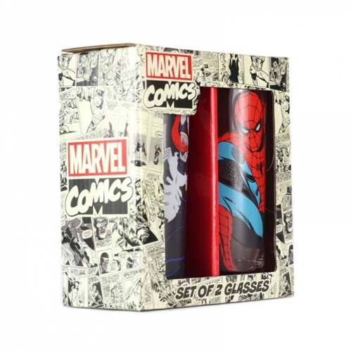 Szklanki Marvel - SPIDER-MAN & VENOM 350ml